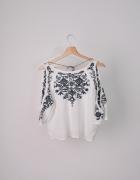Koszula bluzka z wycięciami H&M...
