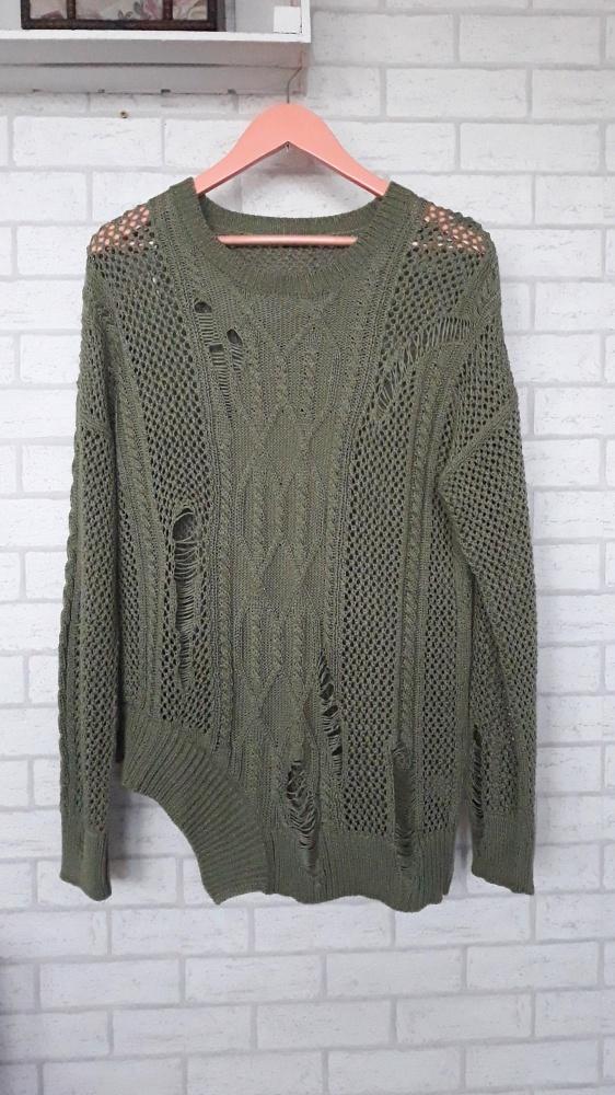 River Island sweter asymetryczny