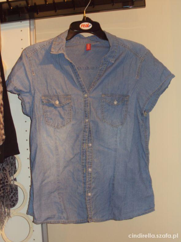 Nowa jeansowa koszula H&M 40 L 38 M stan idealny