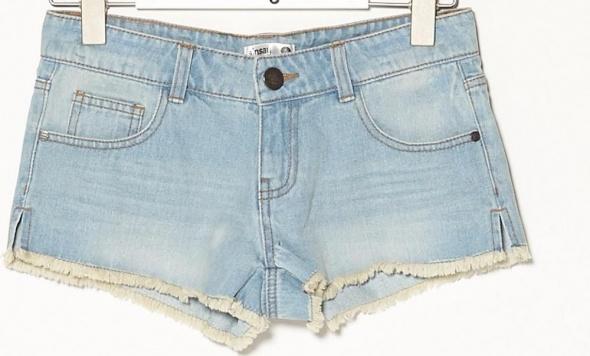 Jeansowe shorty szorty spodenki 40 L sinsay