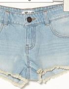 Jeansowe shorty szorty spodenki 40 L sinsay...