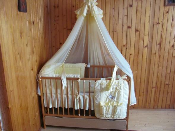 Pościel dziecięca misie wiele elementów moskitiera
