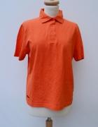 Bluzka Polo T Shirt XL 42 Pomarańczowy Hanes...