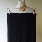 Spódnica Czarna H&M L 40 Long Maxi Długa Rozporki