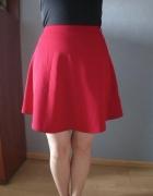 Czerwona spódnica new look...