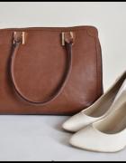 Bardzo pojemna usztywniana torba damska duża do ręki...