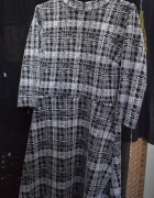 Sukienka retro w kratę...
