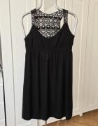 Czarna sukienka letnia Lindex rozm S...