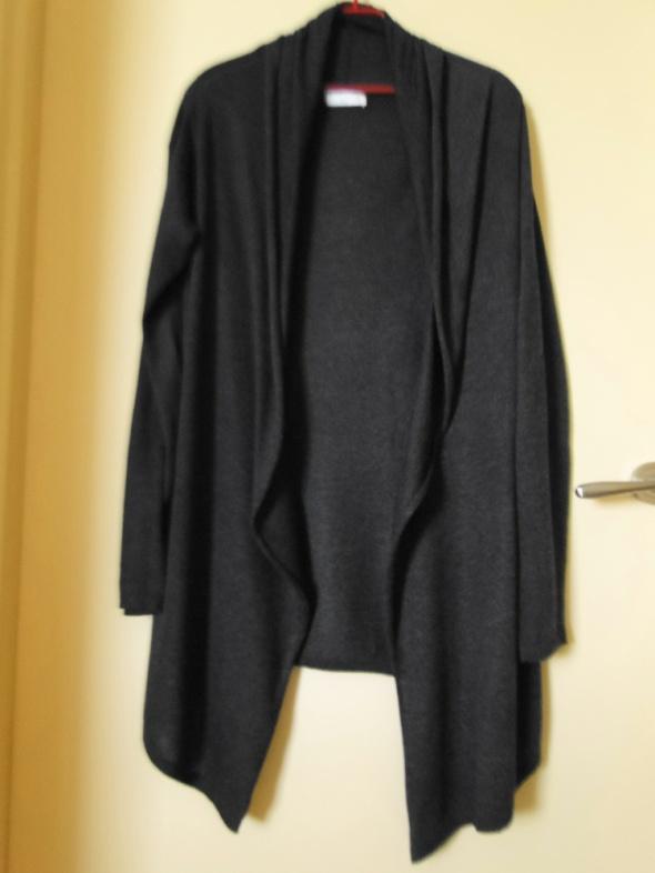 Swetry Jak nowa narzutka sweterek lekki 40 piękna szarość grafit