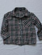 Cztery koszule w kratkę 88 92 F&F H&M...