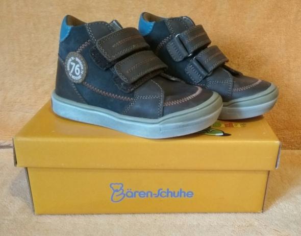 Nowe chłopięce skórzane buty nie ocieplane wyższe wiosenne jesienne 24