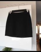 New Look klasyczna czarna spódniczka zamek zip minimalizm ołówk...