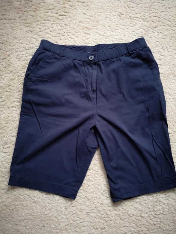 Spodenki Spodenki krótkie granatowe navy spodnie 14 42 Marks Spencer