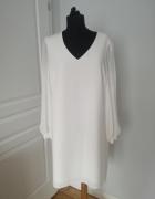 Biala sukienka nowa rozmiar 44...