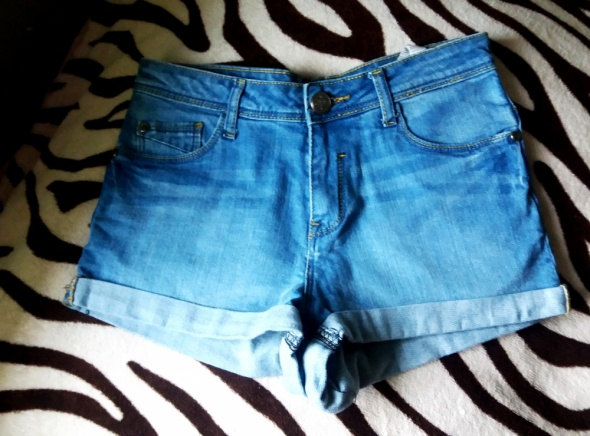 Spodenki jeansowe spodenki Sinsay