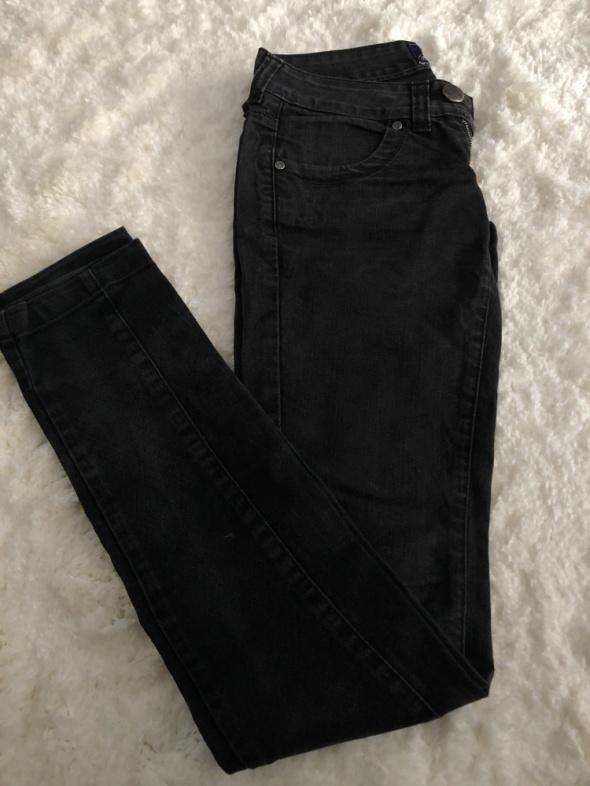 Spodnie Bershka Denim spodnie