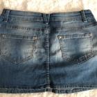 Jeansowa spódniczka Terranova rozmiar S