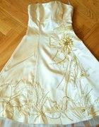 Piękna suknia wyjściowa 34...