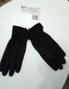 NOWE z Niemiec rękawiczki ciepłe damskie brązowe...