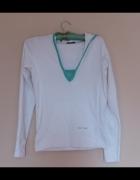 New Look biała bluza 36 38...