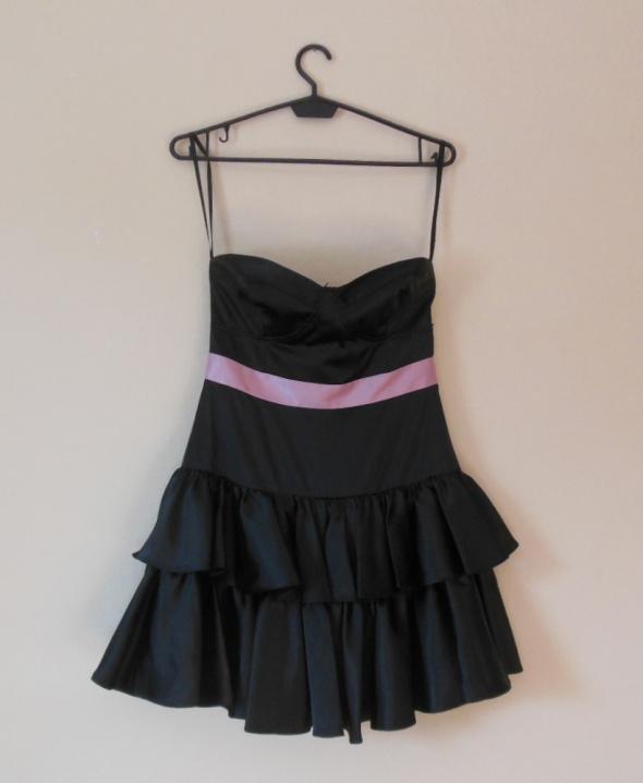 Suknie i sukienki Asos czarna sukienka sexy mini 36
