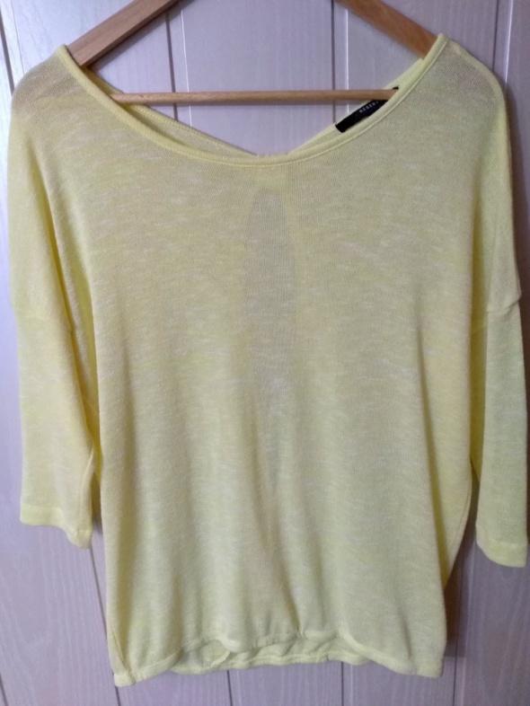 Żółta bluzeczka Reserved oversize M 38...