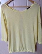 Żółta bluzeczka Reserved oversize M 38