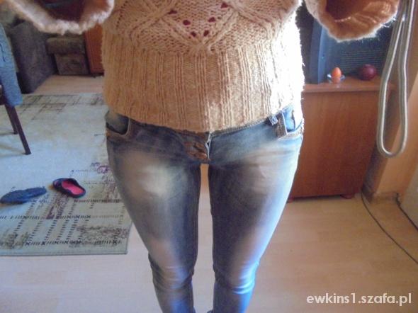 Spodnie Biodroweczki xs rureczki