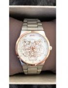 Zegarek KENZO tygrysem różowe złoto rosegold złoty srebrny stal...