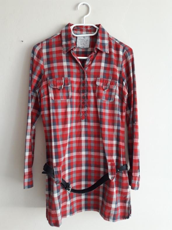 Czerwona koszula w kratę Cache Cache