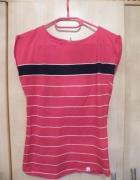 Czerwona koszulka w paski Carry...