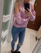 Bluza liliowa