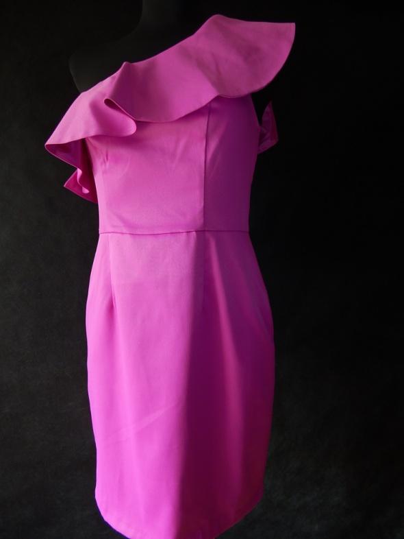 Suknie i sukienki F&F NOWA sukienka na 1 ramię 36 S