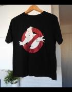 Primark Ghostbusters czarny tshirt nadruk koszulka...