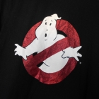 Primark Ghostbusters czarny tshirt nadruk koszulka