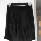 HM nowa spódnica czarna satynowa elegancka ołówkowa