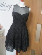 sukienka princeska CLUBL S czarna