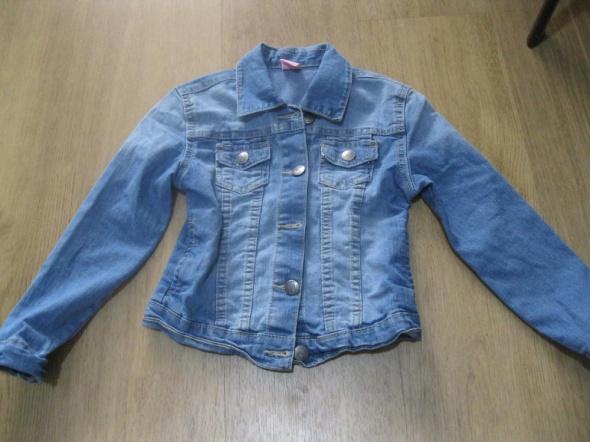 kurtka katana jeans kiki&koko 116 niebieska skinny