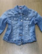 kurtka katana jeans kiki&koko 116 niebieska skinny...
