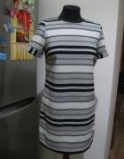 prosta sukienka DOROTHY PERKINS 38 paski...