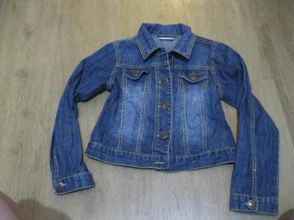 kurtka katana jeans NEXT 128 granat skinny