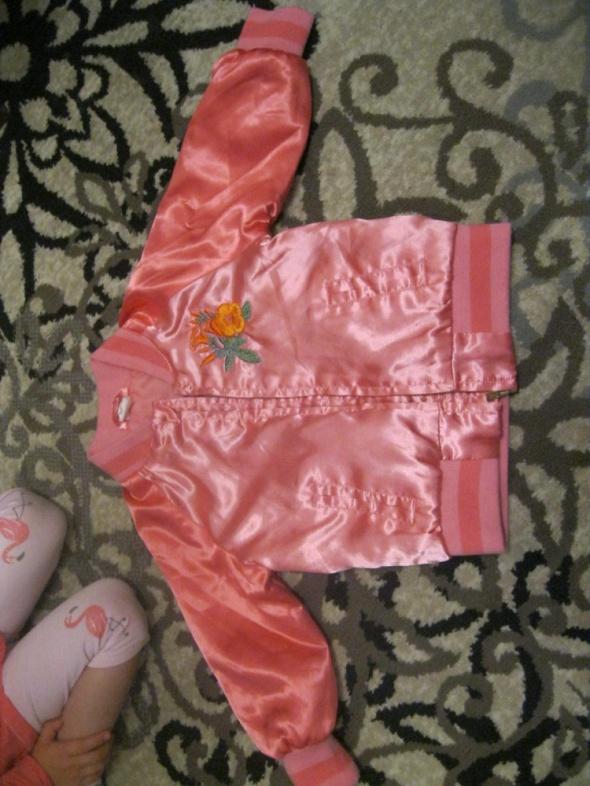 kurtka bomberka H&M różowa 86