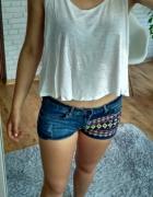 Koszulka crop top h&m...