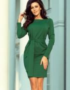 Sportowa sukienka z wiązaniem S M L XL XXL kolory...