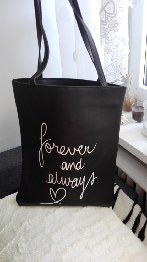 torba shopperbag skórka