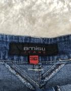Jeansowa spódniczka Amisu...