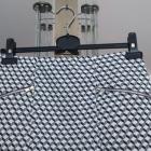 Spódnica we wzór z zamkami