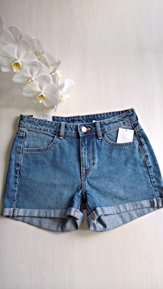 Nowe jeansowe spodenki szorty bawełna...