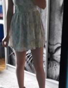 Sukienka H&M XS letnia kwiaty...