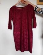 fioletowa sukienka L reserved...